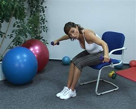 Zádové svaly posilování