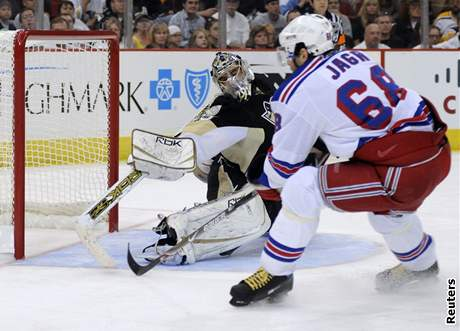 Pittsburgh - New York Rangers: Fleury - Jágr