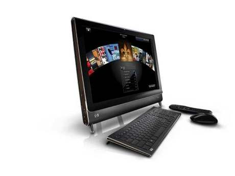 Počítač HP TouchSmart All-in-One