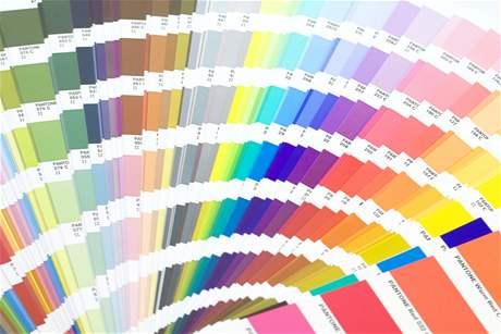 Barvy pokojů vzorník