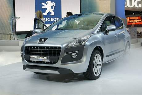 Peugeot Prologue HYmotion4