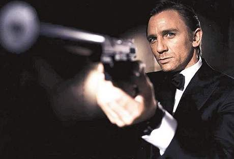 Daniel Craig coby James Bond