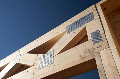 Lepené dřevěné nosníky