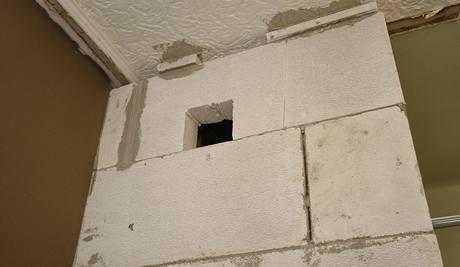 Odvětrání koupelny přes střechu
