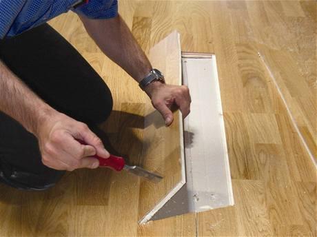 Oprava laminátové podlahy