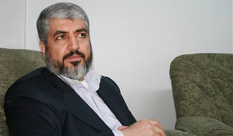 Mr. Khaled Mishaal, the political leader of Hamas