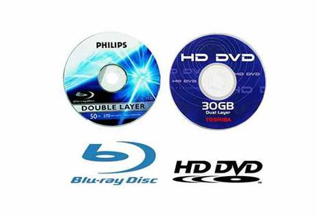 Blu-ray disc versus HD DVD