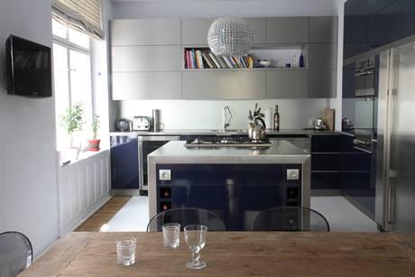 Moderní kuchyně s ostrůvkem