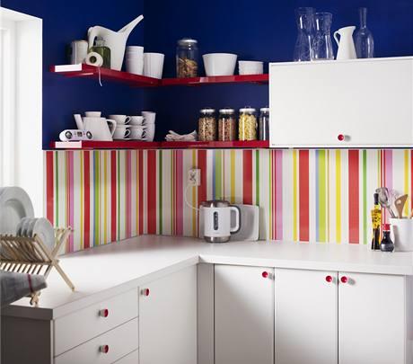 Nástěnné panely za kuchyňskou linku
