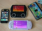 iPhone, PSP go, PSP, Nintendo DS