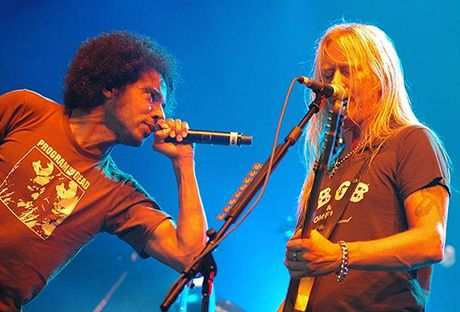 Alice In Chains ve Zlíně - William DuVall a Jerry Cantrell