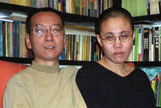 Výsledek obrázku pro foto čínský disident liou manželka