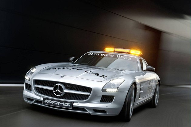 Mercedes SLS AMG F1 Safety Car Gullwing