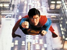 Christopher Reeve v roli Supermana (1978)