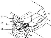 Inflatable security mannequin - 5367294