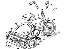 Pedal operated mower  - 4455816