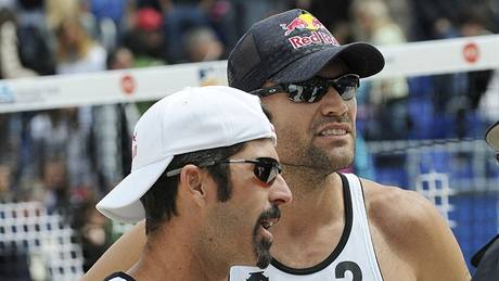 Todd Rogers (vlevo) a Phil Dalhausser