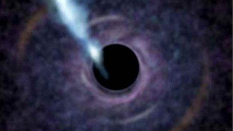 Černá díra M87