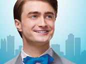 Daniel Radcliffe na plakátu k inscenaci How to Succeed in Business Without Really Trying