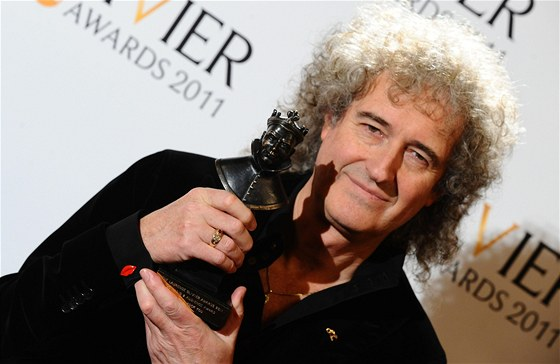 Ceny Laurence Oliviera 2011: Brian May