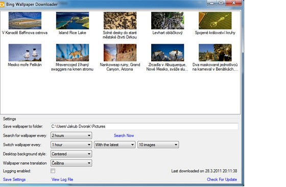 Bing Wallpaper Downloader