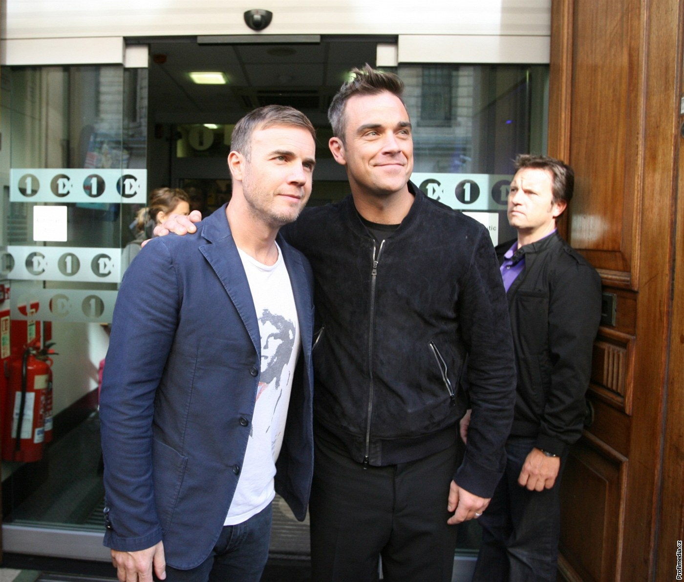 Robbie Williams a Gary Barlow