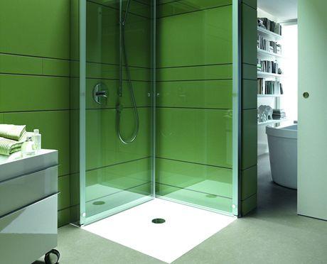 Sprchový kout open space