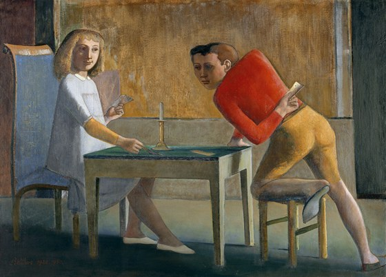 Balthus: La part of charts (1948-1950)