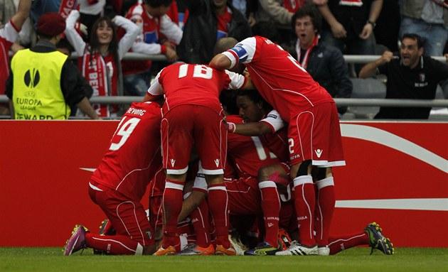 Liberec rival Braga: Portugisiska Arsenal med brasilianska armén