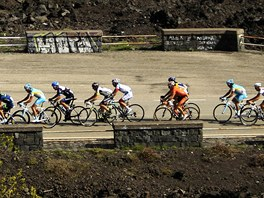 9. etapa Gira šplhala na vrchol Etny