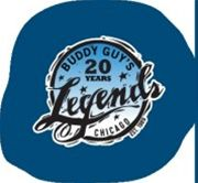 Logo klubu Buddy Guy's Legends v Chicagu
