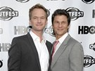 Neil Patrick Harris a jeho partner David Burtka