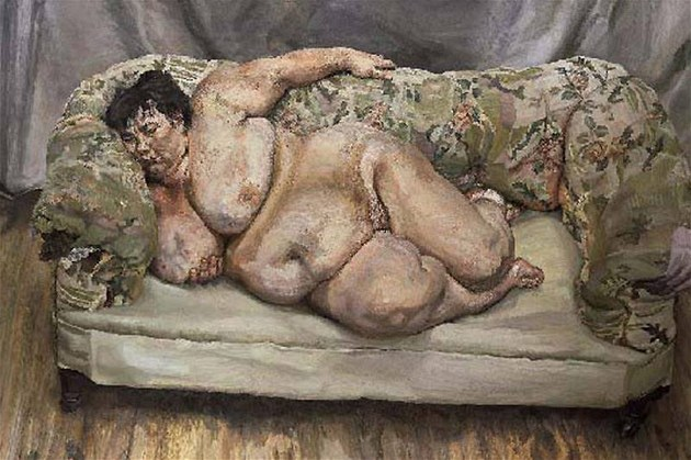 Lucian Freud: Benefits Supervisor Sleeping