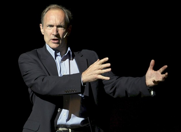 Sir Tim Berners-Lee, otec World Wide Web