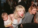 Courtney Love a Kurt Cobain s dcerou Frances Bean
