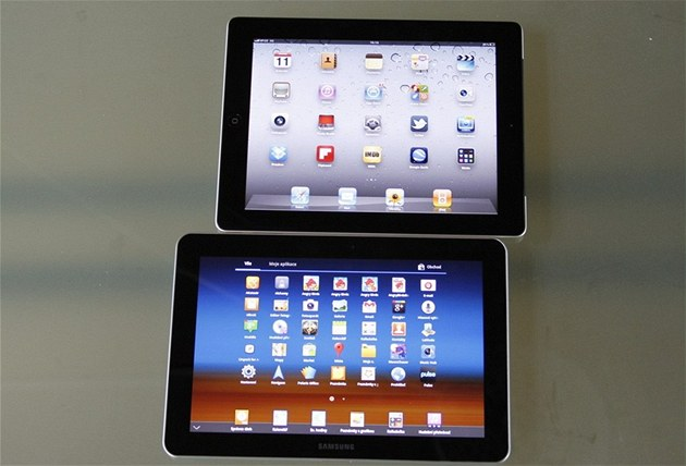Samsung Galaxy Tab 10.1 a Apple iPad 2