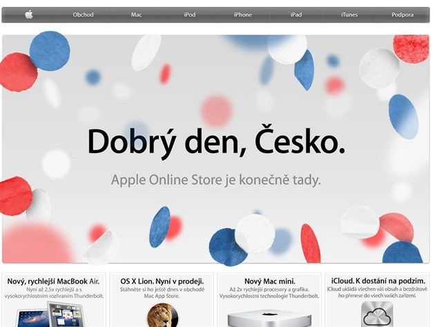 Apple Store Česko