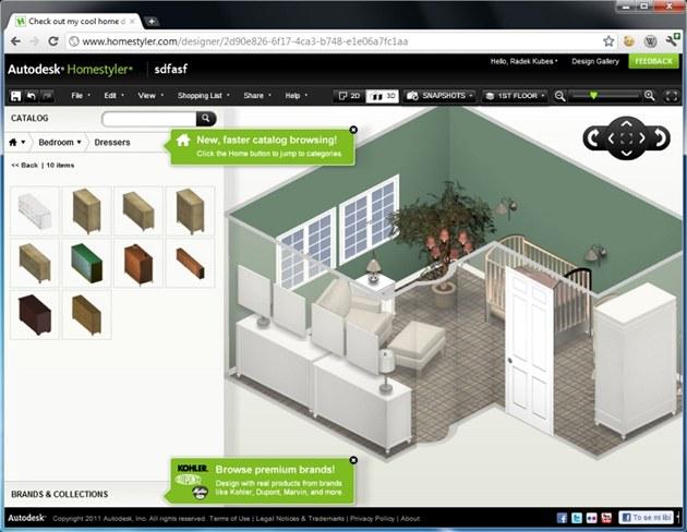 Fotogalerie S Online Aplikac 237 Autodesk Homestyler Můžete Navrhovat Interi 233 Ry Př 237 Mo V