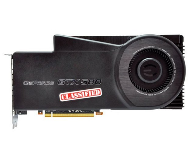 GeForce GTX 580 Classified