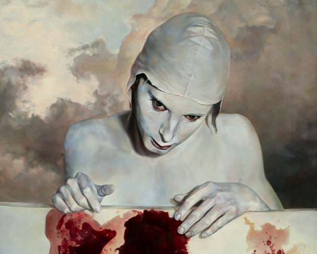 Agnes Toth: This Is My Blood (z výstavy No borders. Appeal to heaven.)