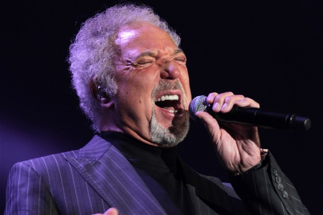 Tom Jones koncertoval 23. listopadu 2011 v Brn�