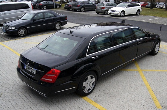 Mercedes-Benz S 600 Pullman Guard