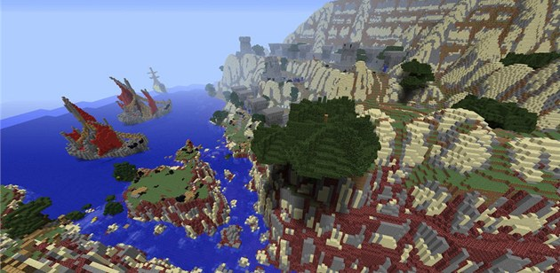 Minecraft ve World of Warcraft