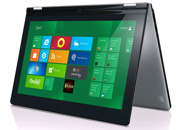 Lenovo pro Windows 8 RT patrn� p�ipravuje sv�j projekt Yoga