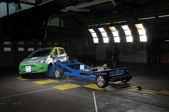 Crashtest Ford B-Max