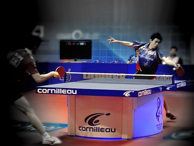 Sponsor and official table supplier World Team Cup 2007 - 2009 - 2010 - 2011