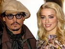 Johnny Depp a Amber Heardová