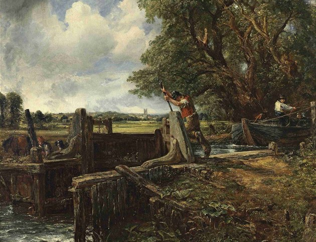 John Constable: The Lock