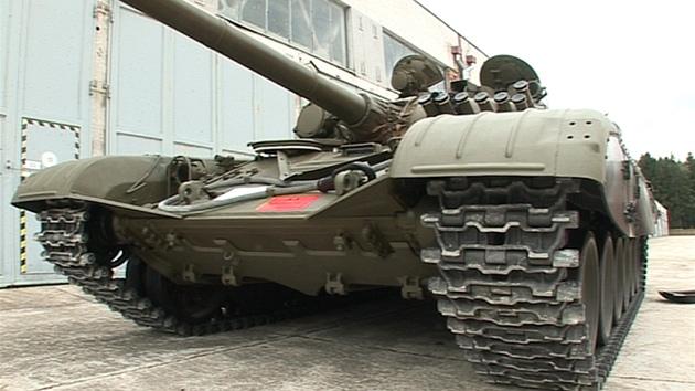 Tank T 72 V Boji By Prezil Ctyri Minuty A Nejsou Pro Nej Valky