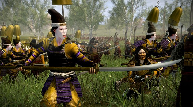 Total War: Shogun 2, the Saints and Heroes